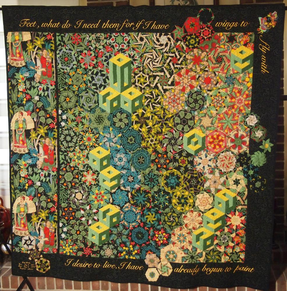 Kaleidocally Hexed Quilts (5/6)