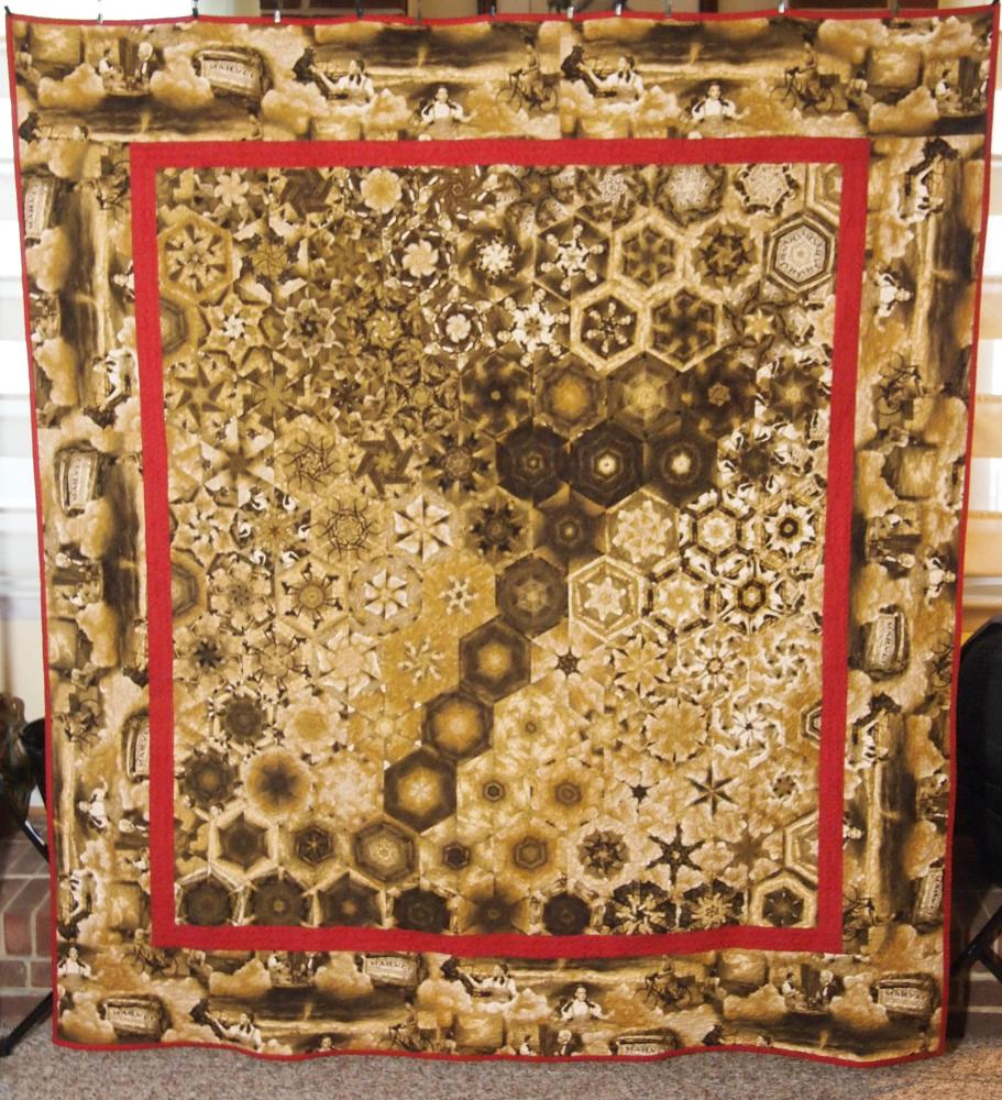 Kaleidocally Hexed Quilts (6/6)