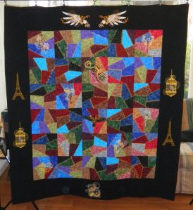 2012-6 Not Your Grandmothers Crazy Quilt