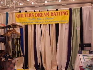 Quilters Dream Batting Booth