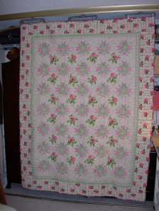 06 2005 Marys Rose Quiilt