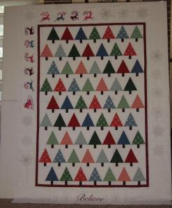 I Believe Christmas quilt