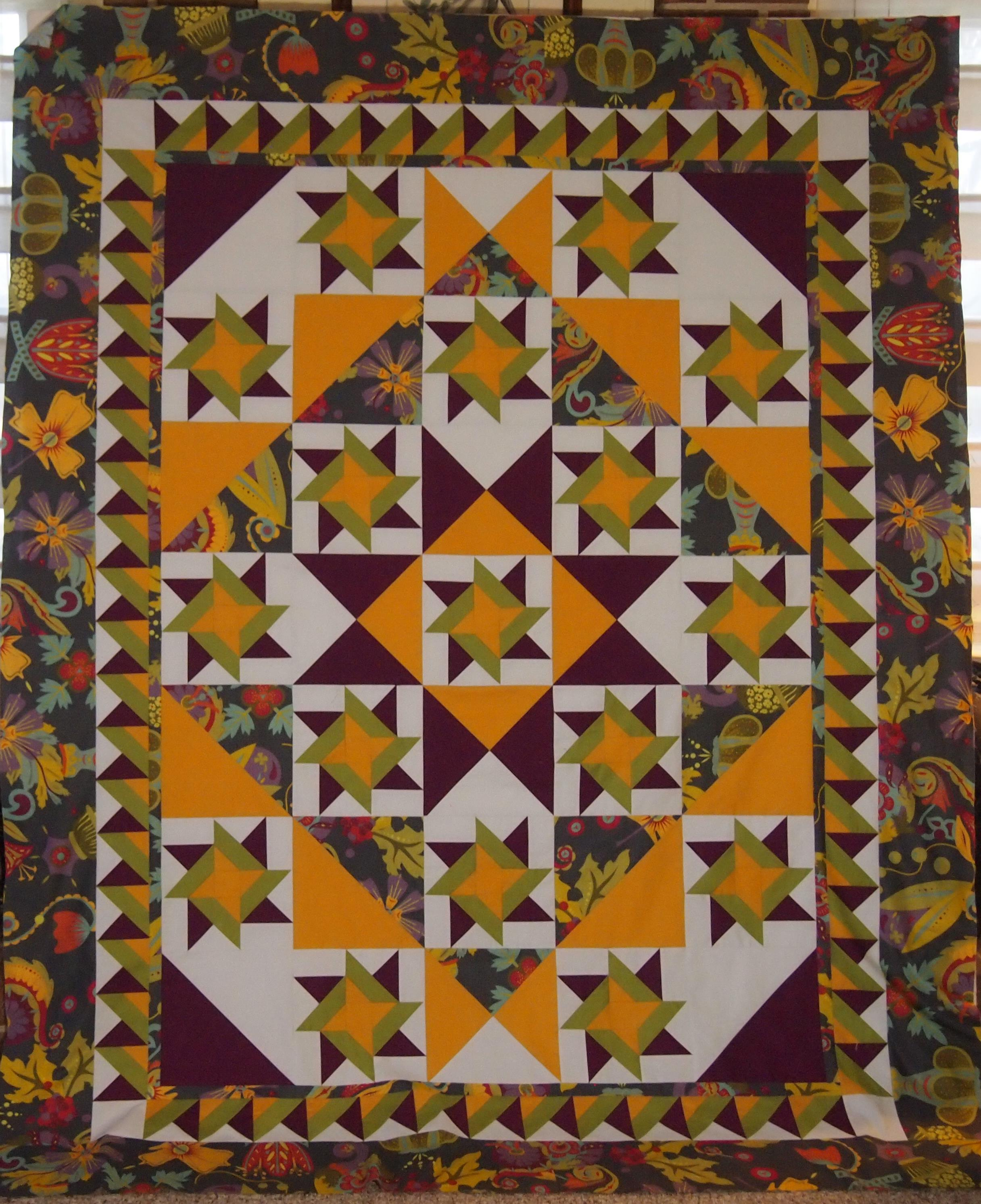 I Love a Pieced Border | If These Threads Could Talk : pieced borders for quilts - Adamdwight.com