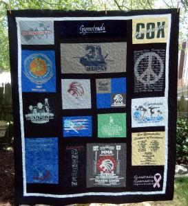 02 T-Shirt quilt