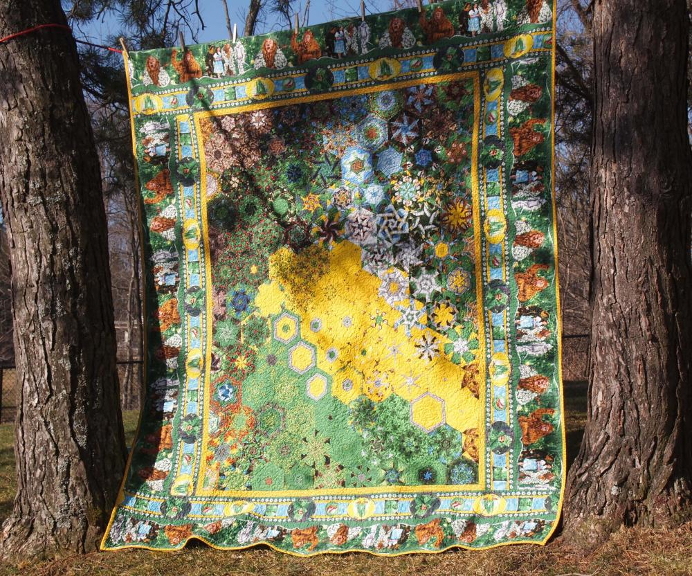 Kaleidocally Hexed Quilts (1/6)