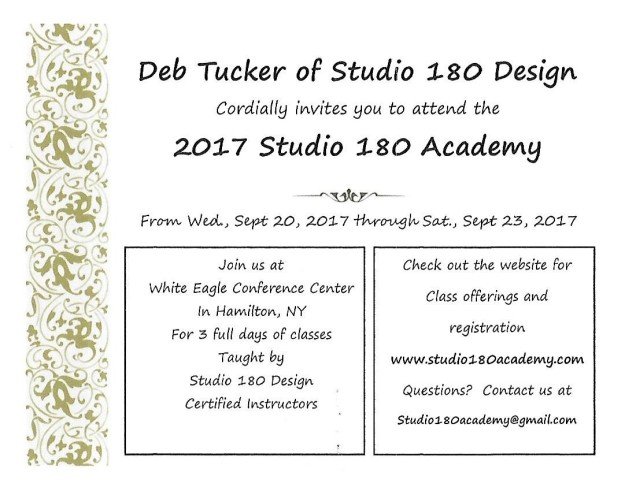 S180 Academy Invitation