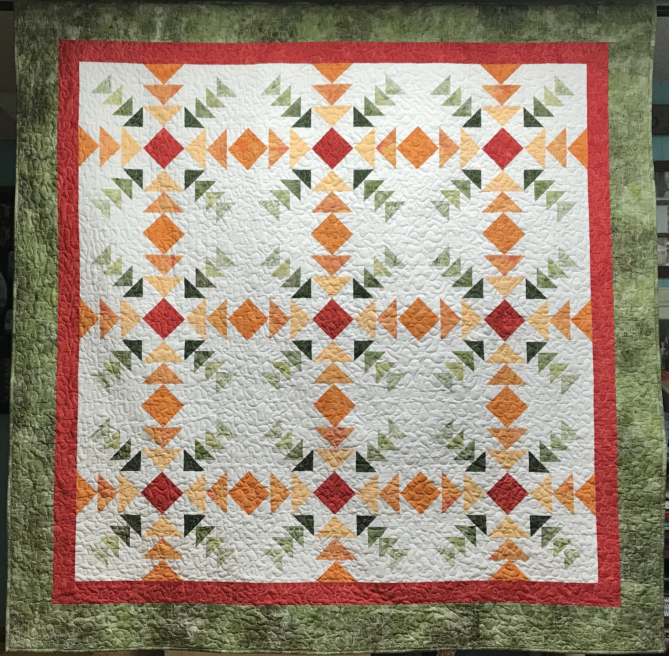 Converging Geese Quilt