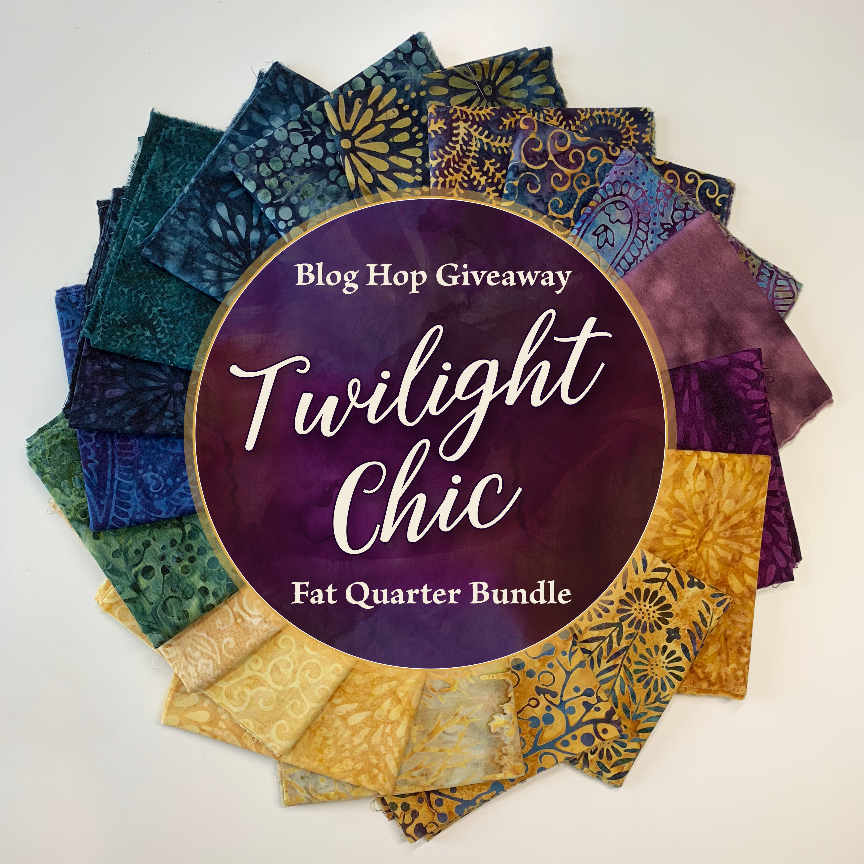 Twilight Chic fat Quarter Bundle